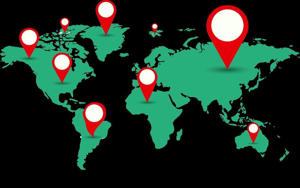 DNS Propagation Geo-Locations