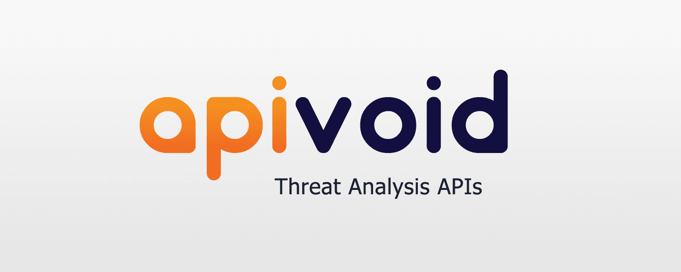 Threat Analysis APIs for Threat Detection & Prevention | APIVoid